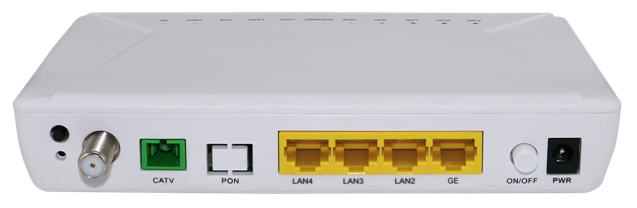 GPON ONT 1GE+3FE+CATV(single fiber)