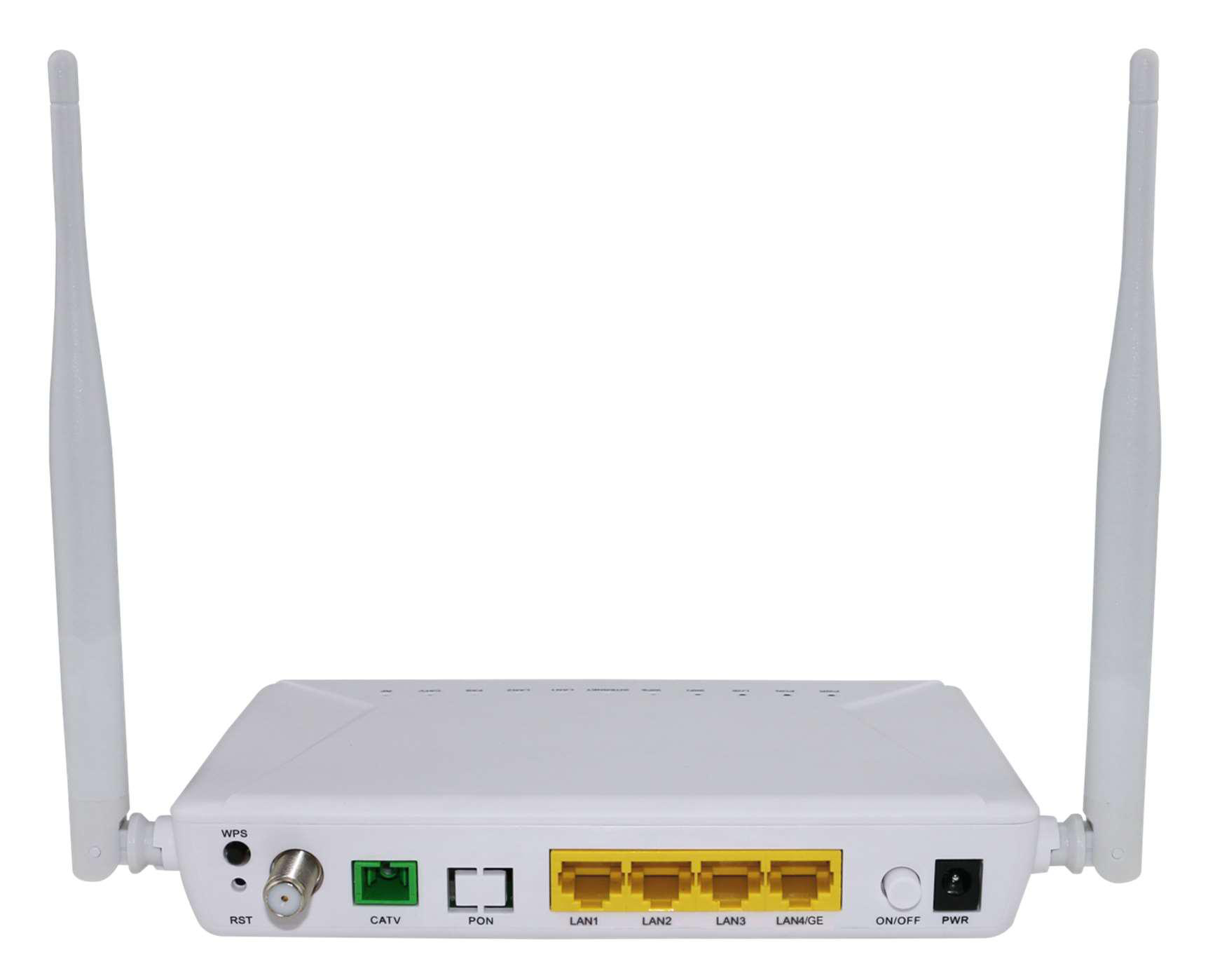 GPON ONT  1GE+3FE+WiFi+CATV(single fiber)